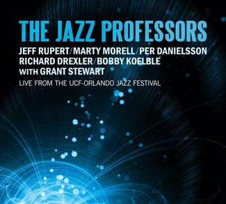 The Jazz Professors Live CD cover