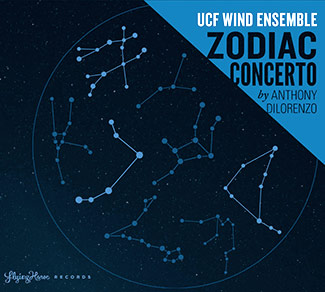 Zodiac Concerto by UCF Wind Ensemble CD cover